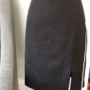 WHBM pencil skirt with contrast stripe